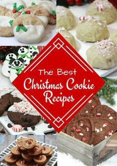 The BEST Christmas Cookie Recipes