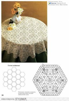 Home Decor Crochet Patterns Part 139 - Beautiful Crochet Patterns and Knitting Patterns Diy Crafts Crochet, Crochet Home Decor, Crochet Art, Crochet Round, Crochet Motif, Crochet Doilies, Crochet Table Runner, Crochet Tablecloth, Crafts Beautiful