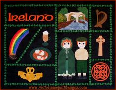 Postcards from...Ireland Quilt Pattern