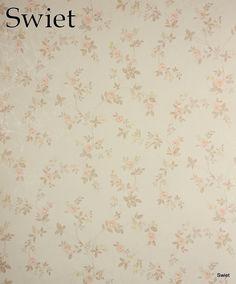 Country style bloemen behang | Swiet