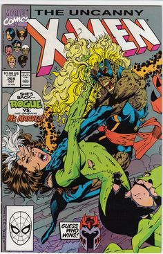 X-Men 269 by Jim Lee & Scott Williams