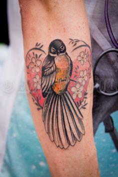 fantail tattoo - Google Search Kiwiana, I Tattoo, Mixer, Google Search, Art, Tatuajes, Art Background, Kunst, Performing Arts