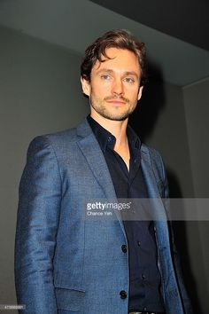 Actor Hugh Dancy attends 'Meet The Actor' at Apple Store Soho on February 28, 2014 in New York City.