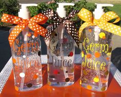 Germ Juice- Hand Sanitizer!  Great Teacher Gift!
