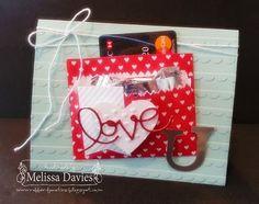 Sweetheart Treat Valentine by Melissa Davies @ rubberfunatics