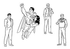 All About Superman Coloring Pages