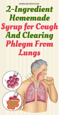 2-Ingredient Homemade Syrup For Stopping Cough And Clearing Phlegm From Lungs - Hecspot Homemade Cough Remedies, Cold And Cough Remedies, Home Remedy For Cough, Cold Home Remedies, Natural Health Remedies, Dry Cough, Stop Coughing Remedies, Phlem Remedies, Health And Fitness
