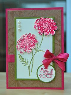 Julie's Japes - An Independent Stampin' Up! Demonstrator in the UK: Field Flowers