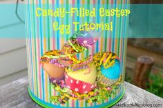 Egg Tutorial: Filled Egg {Easter Treats} from Kids Activities Blog
