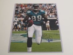 Marcedes Lewis Signed Autographed 11x14 Photo Jacksonville Jaguars Autograph with Coa Authentic Certificate by all-star-sports. $19.99. This is a mint hand signed 11x14 photo. This will come with a certificate of authenticity and 100% money back guarantee if not happy.