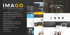 Imago is clean One & Multipage wordpress theme and retina ready. It is great, professional and easy to use theme. You can use it for, business, Photo Studio, Freelancers, Portfolio Theme, Personal, Restaurant, Medicine, Travel, Creative Agency, Corporate, Magazine, Blog, Interior, Ecommerce, Mobile application etc..
