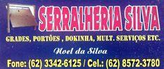 Eu recomendo Serralheria SILVA- Setor Central, #Ipiranga de Goiás, #Goiás, #Brasil