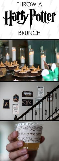 Accio Decoration and Recipe Ideas! Plan a Harry Potter Baby Shower, Bridal Shower, or Brunch