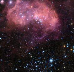 Фотографии Хаббла: Регион N11 в Большом Магеллановом Облаке