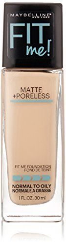 Fit Me Matte plus Poreless Powder from #Maybelline New #York goes beyond skin tone matching to fit the unique texture issues of normal to oily skin for the ultima...