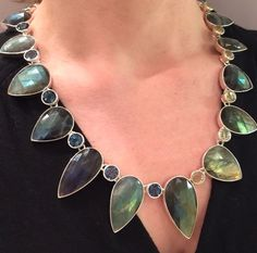 Stephen Dweck statement necklace.