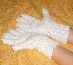 crochet gloves patterns with fingers tutorial   Fingerless Gloves and Wrist Warmers — Free Crochet Patterns