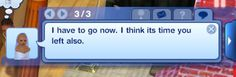 """This is hilarious! Things you learn from sims: Some people are just born sassy.    Important Life Lessons You Could Learn From """"Sims"""" Glitches"""