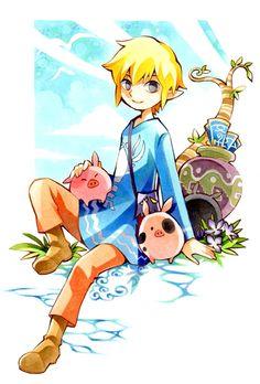 The Legend of Zelda. Oh my gosh THE TINY PIGGIES