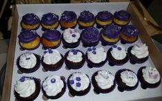 Pancreatic Cancer Awareness Month, Purple Cupcakes, Change, Baking, Desserts, Food, Tailgate Desserts, Meal, Patisserie