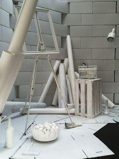 Migros, Scenery Design: GUSTAVE  #Installation #Event #White Brand Campaign, Scenery, Concept, Design, Landscape, Landscapes, Paisajes, Nature