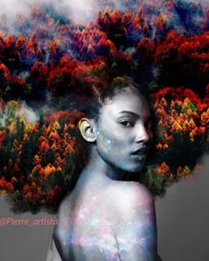 Pierre has built up huge social media following as a result of his unique works. Jean-Louis paints mystical images of the universe and nature onto images of black women's natural hair that are truly fascinating. His intricate works feature stars, fire, flowers, vines, and even solar systems, all seamlessly woven into the gorgeous kinks and curls of black hair. See his photos HERE: http://www.shorthaircutsforblackwomen.com/black-man-paints-nature-the-universe-into-black-womens-natural-hair