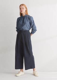 wool/cotton trousers @ toast