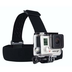 GoPro Head Strap With Quick Clip Easy Camera Mount On Head Quick Release - Yakwax Gopro Camera, Camera Gear, Leica Camera, Nikon Dslr, Film Camera, Gopro Head Strap, Pictures Of Cameras, Helmet Camera, Go Pro