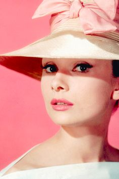 "Audrey Hepburn for ""Funny Face"" (1957)"
