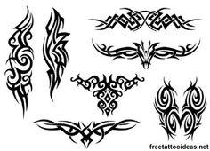 Tribal #ink - http://www.freetattooideas.net/category/tribal-tattoos/