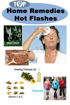 Home Remedies Hot Flashes..
