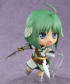 DOG DAYS - Eclair Martinozzi - Nendoroid - Good Smile Company | Anime Manga Comic PVC Figur Statue | Chibi