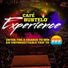 Enter the Café Bustelo® Experience for a chance to win a trip for two to Fun Fun Fun Fest in Austin November 7-9!