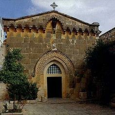 Facade of Church of the Flagellation, Israel