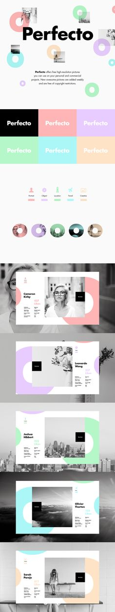 Perfecto on Behance