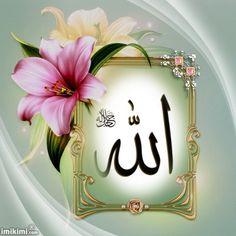 Islamic Calligraphy, Calligraphy Art, Kaligrafi Allah, Islamic Posters, Allah Wallpaper, Beautiful Islamic Quotes, Islamic Pictures, Hair Color For Black Hair, Alhamdulillah