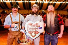 Think you've got what it takes to be this year's Beardmeister? Head over to our website for details on how to pre-register. Pre-registration closes at 5pm Friday. If you miss pre-registration you can register on Friday in the Oktoberfest tent at 5:30pm. Here's a sneak peak of who will be defending their titles from last year! #OktoberfestBrisbane #OFBris16 #Beardmeister