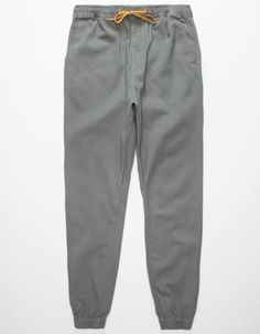 Lira Weekend Mens Jogger Pants Charcoal  In Sizes