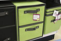 Green Storage Bin (at Meijer stores)  #MeijerDormDecor #DormDecor