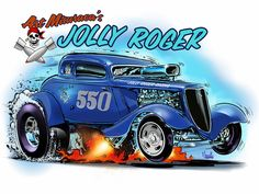 Hot rod art by Jeff Norwell