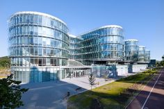 Pomeranian Science and Technology Park in Gdynia, POLAND by AEC Krymow & Partners - ArchShowcase A As Architecture, Education Architecture, Contemporary Architecture, Visit Poland, Amazing Buildings, Design Competitions, Architectural Digest, Pomeranian, Park
