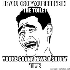 What To Do When You Drop Your Phone In Toilet Infographic