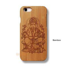 Ganesh Vinayaka iPhone 7 Case - iPhone 7 Solid Total Wood Case - ADTRF0132