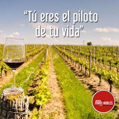 ¡Impulsa tu vida y cumple tus sueños! #FrasesVinosNobles www.vinosnobles.com Foto vía #Pinterest