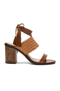 Shop for Schutz Luky Heel in Saddle at REVOLVE. Free day shipping and  returns dbf5424dcde