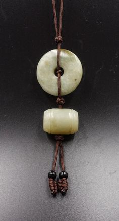 51BidLive-[Chinese Qing Dynasty Jade Pendant]