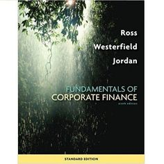 Corporate finance 11th edition solutions manual by ross solution manual fundamentals corporate finance 9th ross corporatefinance fandeluxe Images