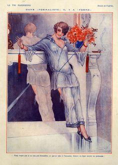 1920s France La Vie Parisienne Magazine  http://www.pinterest.com/adisavoiaditrev/