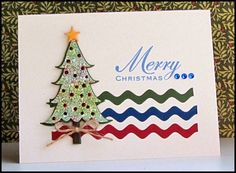 Christmas card - Taylored Expressions die