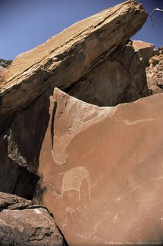 Rock engravings, Twyfelfontein, Damaraland, Namibia.